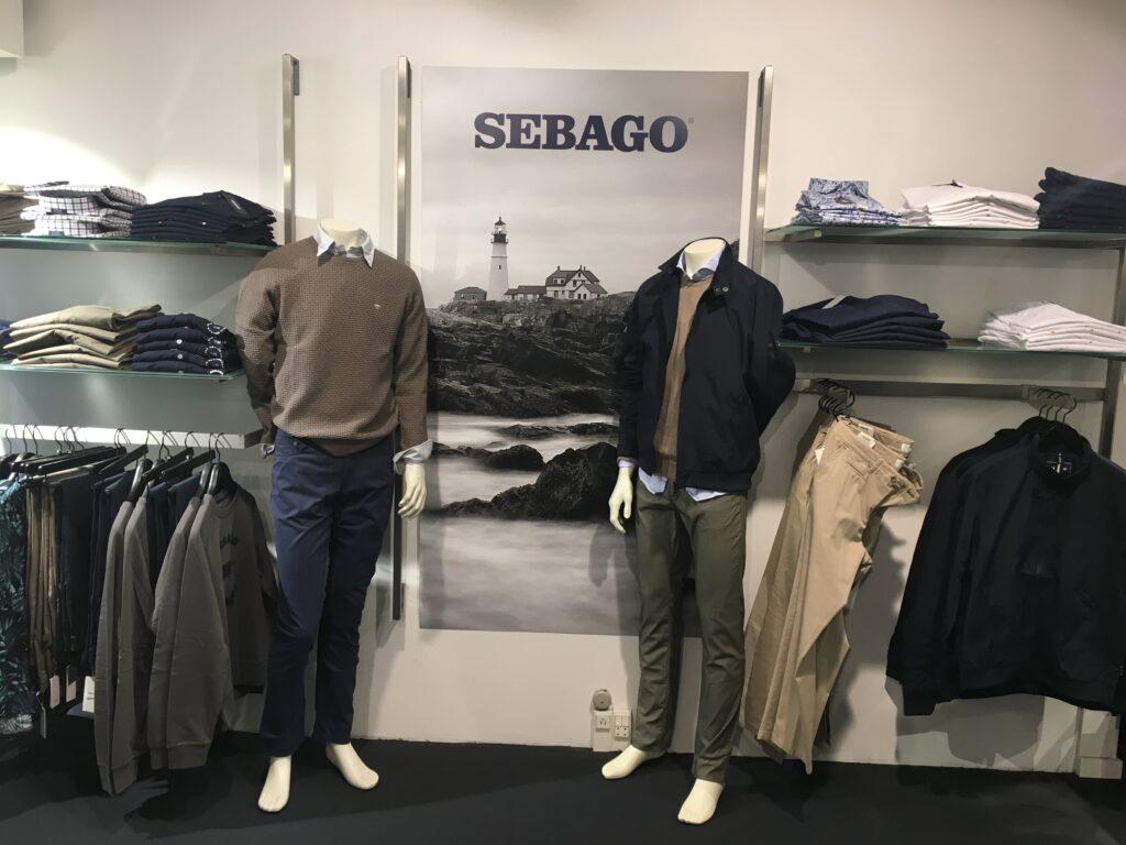 sebago menswear